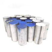 """6061-T6511 Round Extruded Aluminum 1.5"""" Diameter 3-3.5"""" Long"""