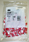 100 pcs 3M 94865 Terminal-Male Disconnect Red 22-18 AWG
