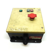 Pacific Power Control KLA# 750-656936 Remote Control Box, 24V, 50/60Hz