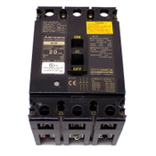 Mitsubishi NF-SF3020 Industrial NF-SF No-Fuse 3-Pole 20A Circuit Breaker 480V