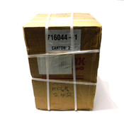 "Intralox Series 1600 Flat Top Open Hinge Conveyor Chain 10.01' L X 18"" W"