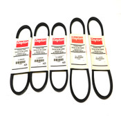(Lot of 5) NEW Dayton Premium Wrapped V Belts (3) A25 And (2) A30 Models