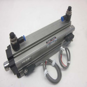 SMC CDQ2A32-F9441-120 Bore-32mm Stroke-120mm Pneumatic Air Cylinder w/2 Sensors