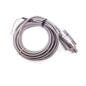 Honeywell A-10 060-1015-02 Pressure Transducer w/ Flex Metal Cable Armor