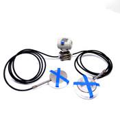 """ABB 600 T Series 621RD2U07811141 Pressure Transmitter w/ (2) 5"""" Sensors"""