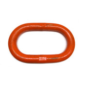 "1.8"" Heavy Duty Oblong Master Link Orange Chain Sling 15-3/4"" L x 9-3/4"" W"