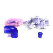SPEARS Fittings (16)837-130BL RED Bushings + (2)806-015BL PVC 90 ELL Elbows SOC