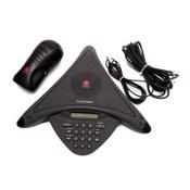 Polycom 2201-01900-001 SoundStation Premier Phone w/2201-17020-601A Power Supply