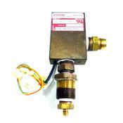 Malema Flow Switch 0596 Model M-200-B-3-B Brass Flow Switch 1500 Max PSIG