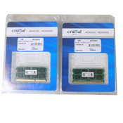 NEW (4GB) Crucial 2 x 2GB 1600MHz Laptop Unbuffered Memory 2Rx4 PC3-12800 DDR3