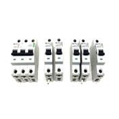 (Lot of 6) Moeller Circuit Breakers (1)FAZSC25 (2)FAZSC3 (2)FAZSC16 (1)FAZSC6