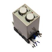 Koino KTM-1T Analog 8-Pin Adjustable 24hr/60s Timer 24VDC w/ DTS-01 Socket