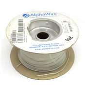 (890 Feet) AlphaWire 6712 White 24 AWG 600 Volt Internal MPPE Wire
