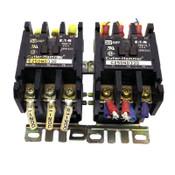 (Lot of 2) Eaton C25DND330 Series D Contactors 30A Definite Purpose 24V Coil
