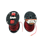 (Lot of 2) 12AWG Red Wire Spools (1) ~250' UCI And (1) ~390' Republic Wire 600V