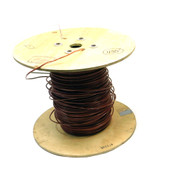 (~435') NEW CME Wire & Cable E95989 Brown 10AWG Copper Wire Solid/Non-Stranded
