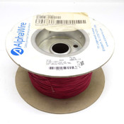 AlphaWire 6712 Red 24 AWG 600 Volt Internal MPPE Wire 900+ Foot Spool