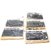 (Lot of 5) NEW Hewlett Packard PS/2 SK-2880 Wired Keyboard USB 2.0 Interface