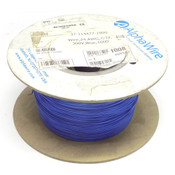 (897 Ft.) Spool of AlphaWire 6822 Blue 24 AWG 7/32 Stranding 300V MPPE Wire