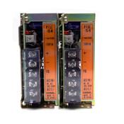 (Lot of 2) Cosel P15E-15-N (P15E-15) Power Supply Units, 100-240VAC, 15VDC, 1A