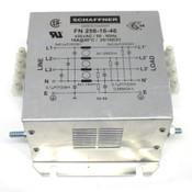 Schaffner FN 256-16-46 3-Phase 16A Power Line Filter 480VAC/50-60Hz
