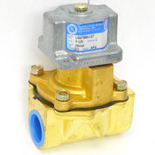 "Honeywell Skinner LB27BB6127 Electric Solenoid Valve 240V 60Hz Coil 1"" NPT Brass"