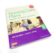 Elsevier Nursing Care Plans Diagnoses, Interventions, and Outcomes 8th Edition