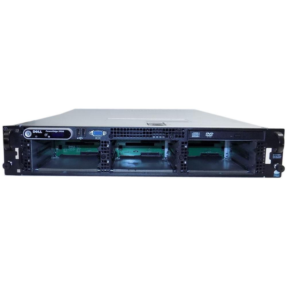 Dell PowerEdge 2950 Server 2x Intel Xeon E5335 2 0Ghz 24GB RAID 4GB/s FC