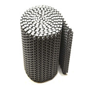 "Gray Polyethylene Plastic Top Conveyor Belt 16' Length  x 10"" Width x 1/2"" Thick"