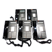 (Lot of 5) Avaya/Lucent 8410D Multi Appearance Digital Phone 10 Feature Buttons