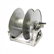 Hannay WD-3 Whirlwind Split-Reel Large Capacity Cable Reel w/ Removable Handle