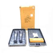NEW Polypropelene Utility Cart 5UTJ2 Gray 250 Pound Load Capacity Per Shelf