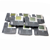 (Lot of 8) Cisco Unified 7940g Business Conference Desk Phones No Handsets AS/I