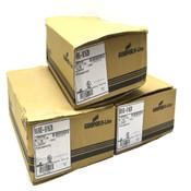 (60) NEW Cooper B-Line B616S-9/16ZN Fluorescent Fixture Hangers w/ Studs