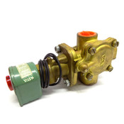 "ASCO 8210D2 Air, Gas, Water, Lt. Oil 1/2"" 220V/240V 2-way Brass Solenoid Valve"