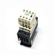 Schneider Electric LAD4TBDL Contactor Block w/ LADN40 4 Pole Relay Module