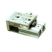 SMC Pneumatics MXS20-40AS Air Slide Table Cylinder 20mm/40mm w/ Adj. Stroke