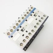 Lot of 2 Telemecanique Contactor 24V Coil 600VAC 3 Pole LP4K0610BW3 LP4