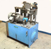 Marmac M-5865 1000-PSI Hydraulic Power Unit 15-Hp Vickers Flow-Control-Valves