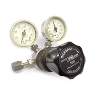 Tescom 64-2662TA422 600 PSI In/30 PSI Out Pressure Reducing Regulator w/ Gauges