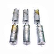 (Lot of 6) ICAR MLR25M50 55 uF Motor Capacitors 500 VAC Polypropylene Dielectric