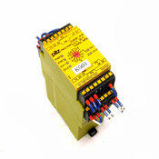 Pilz PNOZ XV3P C 3/24VDC 3n/o 2n/o t Safety Relay For Monitoring E-Stop Devices
