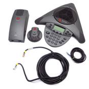 Polycom VTX 1000 SoundStation 2201-07142-001 Wideband Conference Telephone
