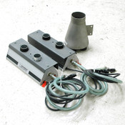 Lot: 2 Dr.Escherich Taifun-Clean 015 Cleaners Ionizer with Hose Adapter Manifold