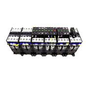 (Lot of 19) Schrack/B&J KG3-10A00-40 Contactors 24VDC 4NO w/ Auxiliary Contacts