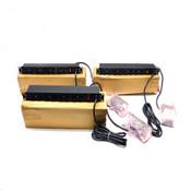 (Lot Of 3) SL Waber X911CB-115 Transient Voltage Surge Suppressors 12 Outlet