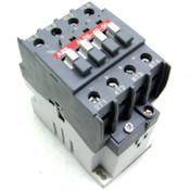 ABB AL26-40-00 24VDC 4-Pole 600VAC Max. 4-N.O. Block Contactor Side/Back Mount