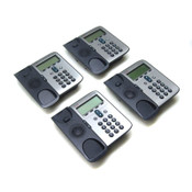 (4) Cisco CP-7906G Unified IP Phones VoIP Digital SCCP Business 7906 Telephones
