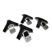 (Lot of 4) Polycom CX3000 2201-15810-001 IP Conference Telephones Built In PoE