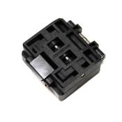 Yamaichi IC51-1284-1433 Burn-In IC 0.5mm Pitch QFP Test Socket 128-Pin Solder